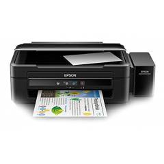Epson L380 All-In-One Multi Function Colored Inkjet Printer
