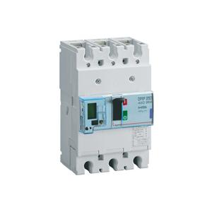Legrand 250A DRX³ 250 MCCBs Electronic Release with Energy Metering Central Unit, 4206 69