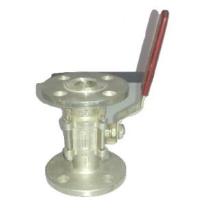 Crest Flanged End IC Ball Valve, MTC-89, Size: 100 mm