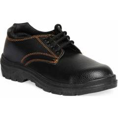 Timberwood Max 100 Steel Toe Black Safety Shoes, Size: 6