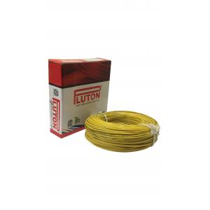 Pluton 1.5 Sq mm Yellow PVC Insulated Wire