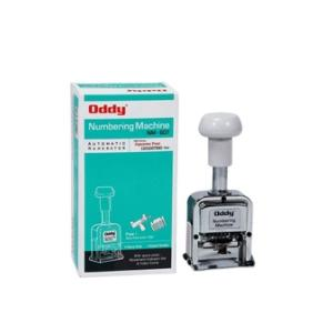 Oddy Six Digit Numbering Machine With Japanese Machine Font Style And Spare Parts, NM-607