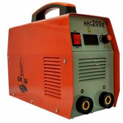 GK 36 Single Phase Welding Machine with Accessories, ARC 200G