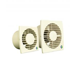 Crompton Greaves 250mm, 10 Inch Brisk Air Plastic Ventilation Fans Ivory, 45W, 1250rpm