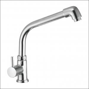 Jainex Robin Deck Mounted Pillar Faucet (Extended) with Free Tap Cleaner, RBN-6131