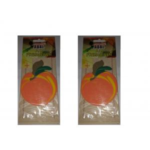Abri 50g Peach Hanging Air Freshener, P36 (Pack of 2)