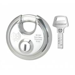 Harrison Rock Star 90mm Stainless Steel Padlock, 404