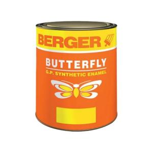 Berger Butterfly 1 Litre Blue G.P. Synthetic Enamel