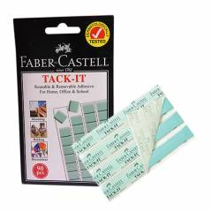 Faber-Castell Light Green Tack It, 187091 (Pack of 50)