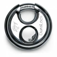Godrej Duralock Stainless Steel Padlock (3 Keys), 8349