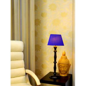 Tucasa Table Lamp with Oval Shade, LG-91, Weight: 800 g