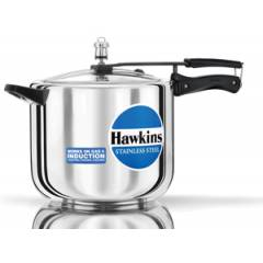Hawkins Stainless Steel 10 Litre Pressure Cooker, D40