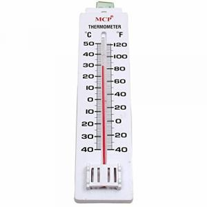 MCP Plastic Wall Mount Room Thermometer, Range: -40 to 50 °C