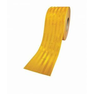 3M 2 Inch Yellow High Intensity Reflective Tape, 10 ft