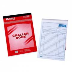 Oddy 225x141mm Triplicate Delivery Order-Challan Book, COB-02 (Pack of 8)