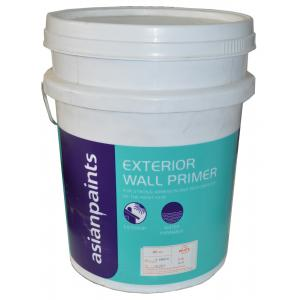 Asian Paints Exterior Wall Primer (Water Based), 0065 Gr-M1, Colour: White, 20 L