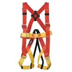 KT Red Full Body Safety Harness with ISI Marked