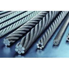 Mahadev 30mm WSC Galvanised Steel Wire Rope, Size 18x7, Length: 1000 m