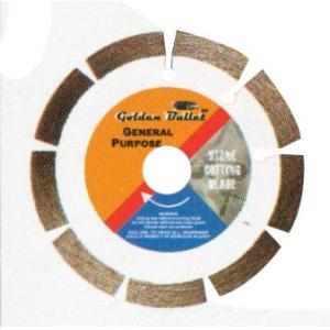 Golden Bullet 125mm Segmented White Circular Saw Blade