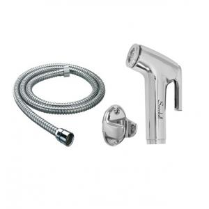 Snowbell Continental Health Faucet, 1m Flexible Tube (Pack of 2)
