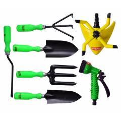 Visko 610 Garden Tool Kit with Sprinkler and Spray Gun (Pack of 7)
