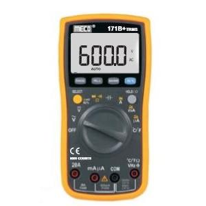 Meco 750V Auto Ranging Digital Multimeter, 171B+TRMS