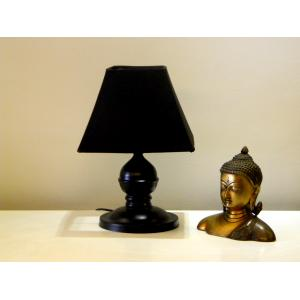 Tucasa Table Lamp with Square Shade, LG-212, Weight: 500 g