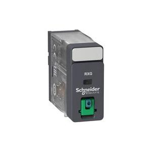 Schneider 10A 48VDC Interface Relay With Lockable Test Button And LED, RXG12ED
