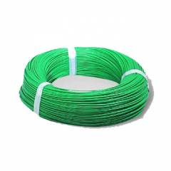 BCI 90m Green PVC Insulated Unsheathed Flexible Copper Cable, 6.0Sqmm