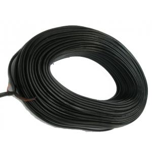 BCI 90m Black PVC Insulated Unsheathed Flexible Copper Cable, 1.5Sqmm