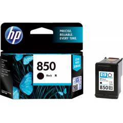HP 850 Black Ink Cartridge, C9362ZZ