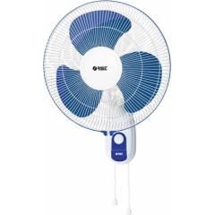 Orbit 16 Inch White Blue Wall Fan WF-1610