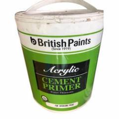 British Paints 10 Litre Water Thinnable Universal Acrylic Cement Primer
