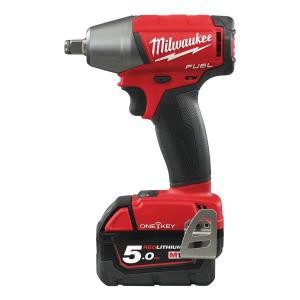 Milwaukee 1/2 Inch Impact Wrench with Friction Ring, M18 ONEIWF12-502X