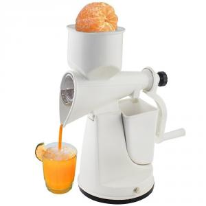 SM Popular Popular White Manual Hand Fruits & Vegetable Juicer with Waste Collector