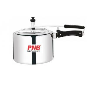 PNB kitchenmate 5 Litre Aluminium Heavy Base Pressure Cooker