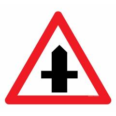 Safety Sign Store 4 Way Crossing Sign Board, TR209-900REF-01