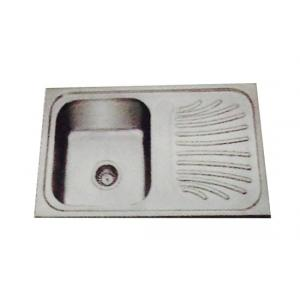 Jayna Jupiter SBSD 01 Glossy Sink With Drain Board, Size: 32 x 20 in