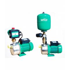 Wilo HWJ - Self Priming Booster With Pressure Switch and WJ, HWJ-203-EM-20, 1 HP
