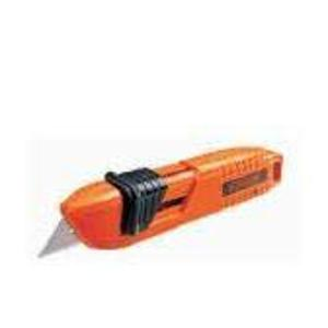 Black+Decker 60cm Orange & Black Safety Utility Knife, BDHT10397 (Pack of 6)