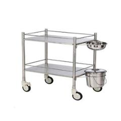 PHI 45x60cm Stainless Steel Dressing Trolley, FC-3004