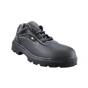 JCB Earthmover Black Safety Shoes, Size: 8