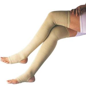 Witzion XXL Eco Beige Varicose Vein Stocking, WI-21-BEIGE-XXL
