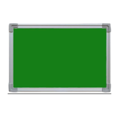 Standard 4x3 Ft Green Notice & Pin Up Board