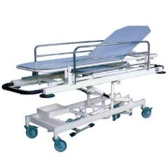 Aar Kay 210x65cm Hydraulic Emergency & Recovery Trolley with Adjustable Height