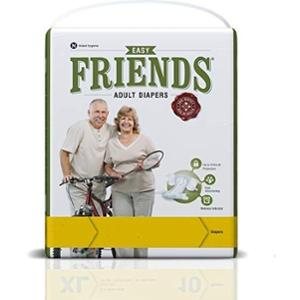 Friends Easy 10 Pieces Extra Large Adult Diaper