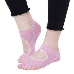 Strauss Medium Pink Yoga Socks, ST-1451