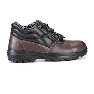 Fuel Impetus H/C Brown Leather Steel Toe Safety Shoes, 619-0103, Size: 9