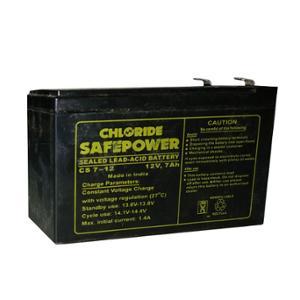 Exide 7Ah 12V Chloride Safepower Battery, CS7-12