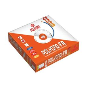 Polycab 4 Sqmm Single Core FRLS Yellow Copper Unsheathed Flexible Cable, Length: 100 m